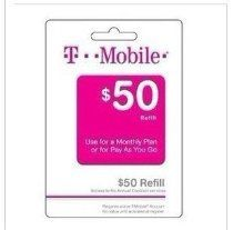 T-Mobile offer 50$ T-mobile prepaid refill card tmobile refill. This awesome product currently limited units, you can buy it now for  $61.99, You save - New