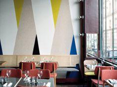 Plus de 1000 id es propos de cuisine deco sur pinterest for Dessin geometrique sur mur