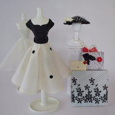 "OOAK Handmade Vintage Barbie/Silkstone Fashion by Roxy™- "" VIVIENNE """