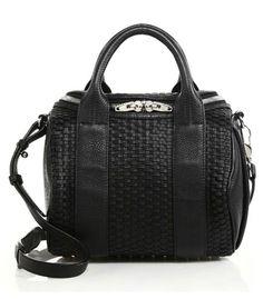 Alexander Wang Rockie Pebbled Leather Duffel Bag