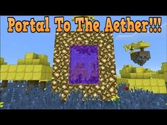 how to build a candy portal in minecraft youtube