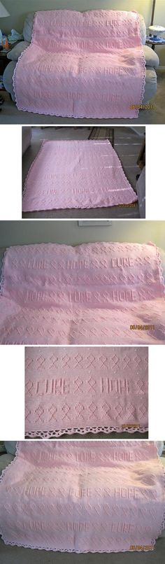 Breast Cancer Awareness/Survivor Afghan - *Inspiration* What a great gift for that Cancer Survivor in your life.