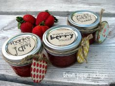 {berries for jam} Freezer jam is super easy to make, and oh-so yummy.  In less than an hour you can have your very own homemade jam! - See more at: http://simplykierste.com/2011/07/berries-for-jam.html