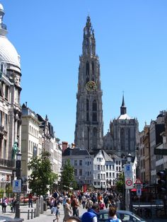 Cathedral of Our Lady, Antwerp, Belgium -