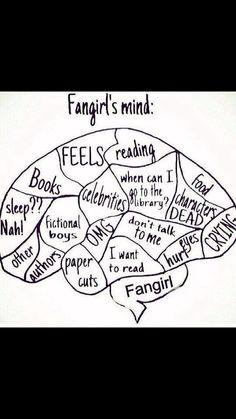 Fan girl brain!