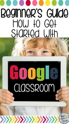 Grab your free guide to getting started with Google Classroom for Kindergarten and First Grade teachers. Let's go digital!