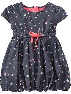 Jersey-Lined Bubble Dresses for Baby | Old Navy