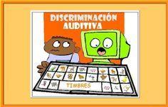 Discriminación auditiva de animales: percepcion, atención, memoria, discriminación figura-fondo...