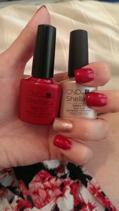 CND shellac new 2015 contradictions tartan punk & safety pin feature nail