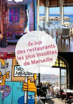 Top des restaurants les plus insolites de Marseille - 12 best shopping cities in the world Aix En Provence, Provence France, Marseille France, Restaurant Marseille, Cassis France, Riviera Beach, Antibes, City Break, French Riviera