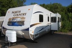 2011 North Country Rear Kitchen - Used Travel Trailer RV - Kitsmiller RV Used Rvs, North Country, Rvs For Sale, Recreational Vehicles, Kitchen, Travel, Cooking, Viajes, Kitchens