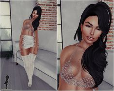 Fashion in SL by Luah Benelli: Be you, rezology hair e iS