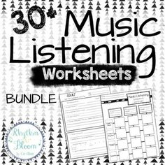 Elements of Music- Anchor Charts- Printable Posters
