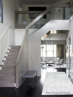 greige: interior design ideas and inspiration for the transitional home by christina fluegge: Grey Modern