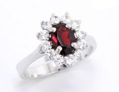 Check out this item in my Etsy shop https://www.etsy.com/listing/261291385/r28-sterling-silver-garnet-ring