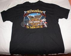 83b62990b House of Harley Davidson Graphic Tee Shirt Men's Size (3XL) Graphic Tee  Shirts,