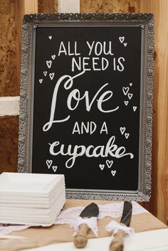 dessert table sign #weddingsigns @weddingchicks