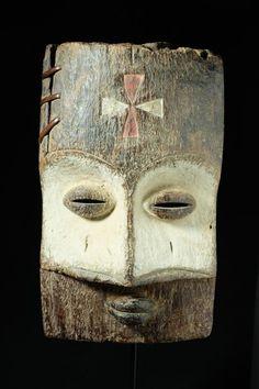 Catawiki online auction house: Amazing mask, very old - TSOGO - Gabon