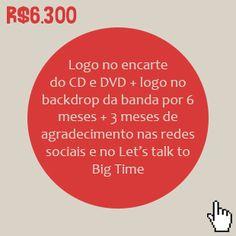 A Big Time Orchestra, a maior big band do Brasil, vai lançar seus novos DVDs e CDs. Colabore e garanta o seu!