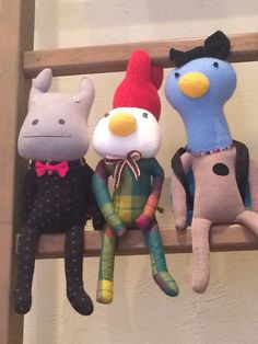 Bobby dazzler stuffed animal handmade