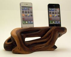 Gorgeous iPod dock for a beautiful, but useful piece of home decor.
