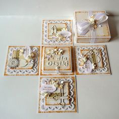 Exploding Box Card, Place Holder, Explosion Box, Cardmaking, Decorative Boxes, Gallery Wall, Paper Crafts, Frame, Projects