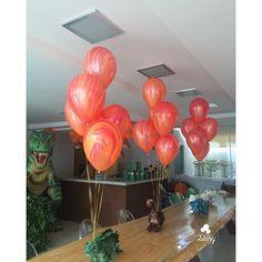 E mais balões para festa de hoje #balao #balões #gashelio #balloons #festa #party #umbocadinhodeideias ...