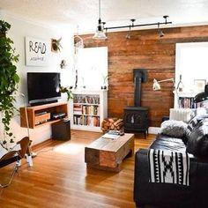 I'd add an area rug to make it a bit more cozy, but I really like this.