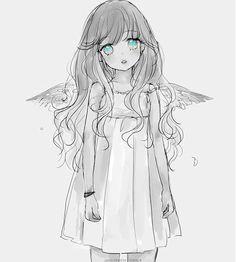 angel anime drawing - Google zoeken
