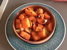 Patate e carote con pollo in Romertopf