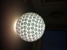 My origami lamp shade