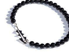 """Løvetann"" Handmade in silver and onyx by Helga Markhus, Norway Norway, Jewelry Design, Bracelets, Silver, Handmade, Hand Made, Bracelet, Arm Bracelets, Bangle"