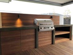 Home - Outdoor kitchen – By Design Works Group, Landscape architects Christchurch - Modern Outdoor Kitchen, Outdoor Kitchen Bars, Outdoor Kitchens, Outdoor Cooking, Outdoor Rooms, Outdoor Living, Outdoor Decor, Rustic Outdoor, Outdoor Glider