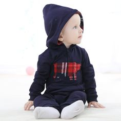 >> Click to Buy << British style baby boys romper todder kids spring autumn rompers children jumpsuits casual clothings #Affiliate