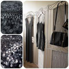 #vintage #black #shine #sparkle #eveningdress #partydress #cocktaildress #60s #50s #80s #90s