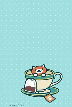 Neko atsume earl tea cat wallpaper