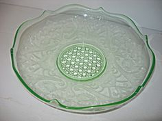 """Lancaster Landrum Green 11"""" Console Bowl. Click on the image for more information."""