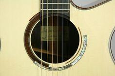 Matsuda M1 Custom Acoustic Guitar - Rosette