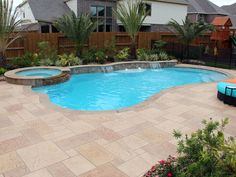 50 Comfy Swimming Pool Designs For Small Yard onehomedecors. 50 Comfy Swimming Pool Designs For Small Yard onehomedecors. Small Swimming Pools, Small Backyard Pools, Backyard Pool Landscaping, Backyard Pool Designs, Swimming Pools Backyard, Swimming Pool Designs, Modern Landscaping, Outdoor Pool, Backyard Ideas
