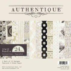 Peaceful | Authentique Paper