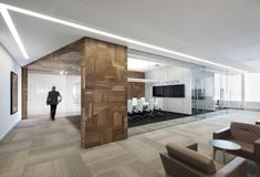 Broccolini Construction Offices by Rubin et Rotman Architectes, Montreal   Canada office