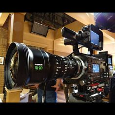 F55 and Fujinon lens #TheNewF #Sony4K