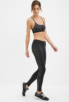 Active Reflective Leggings | Forever 21 - 2000145420