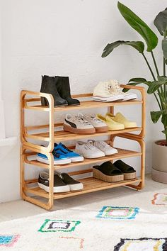 Shop Stackable Bamboo Shoe Rack at Urban Outfitters today. We carry all the latest styles, colors and brands for you to choose from right here.