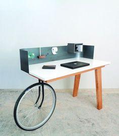 Un bureau très facile à déplacer