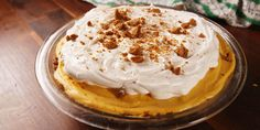 Try this light-as-air cream filling for a fun twist on classic pumpkin pie.