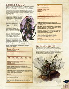Updated Day 25 Kobold Shaman with Bonus Monster by /u/slaaitch - Imgur