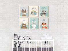 Hey, I found this really awesome Etsy listing at https://www.etsy.com/listing/551724152/woodland-nursery-set-of-6-print-nursery