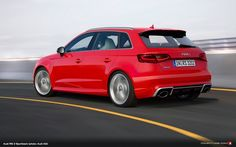 Hot, throaty sound, exhilaratingly free-revving and brawny power – the five cylinder engines from Audi are legendary. 270 kW (367 hp) output and 465 Nm (343.0 lb ft) of torque – Audi presents the new RS 3 Sportback*, the most powerful compact car in the premium segment. With its powerful five cylinder, turbocharged engine, the five door model accelerates from 0 to 100 km/h (62.1 mph) in 4.3 seconds, and its top speed can be increased to 280 km/h (174.0 mph) upon request.