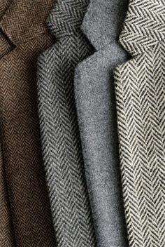 Would love for the groomsmen to wear tweed & herringbone! John Slattery, Foto Still, A Well Traveled Woman, Tweed Blazer, Tweed Jacket, Tweed Suits, Women's Suits, Wedding Suits, Wedding Themes
